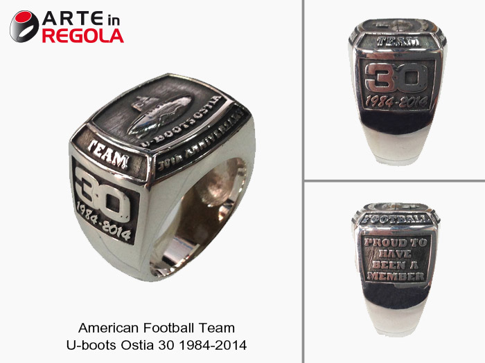 American football Team U-boots Ostia