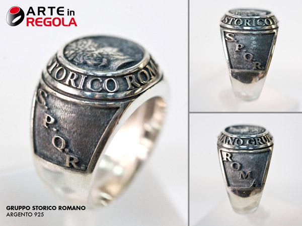 comprare a buon mercato elegante nello stile classcic Gruppo Storico Romano (Anelli Vari) - Anello personalizzato