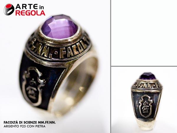 Mm ff nn anelli universitari anello personalizzato for Indirizzi universitari moda